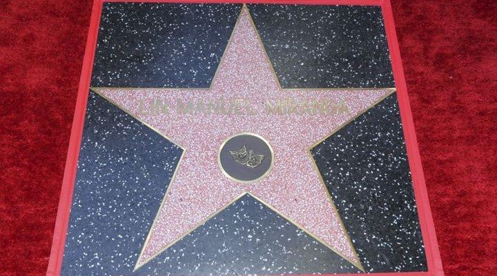 Estrella de la fama de Lin-Manuel Miranda