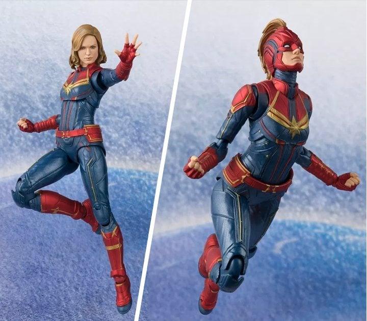 Figura de 'Capitana Marvel'