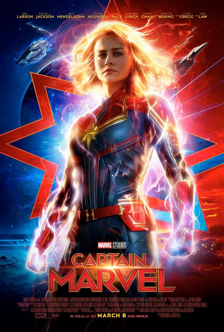 Póster 'Capitana Marvel'