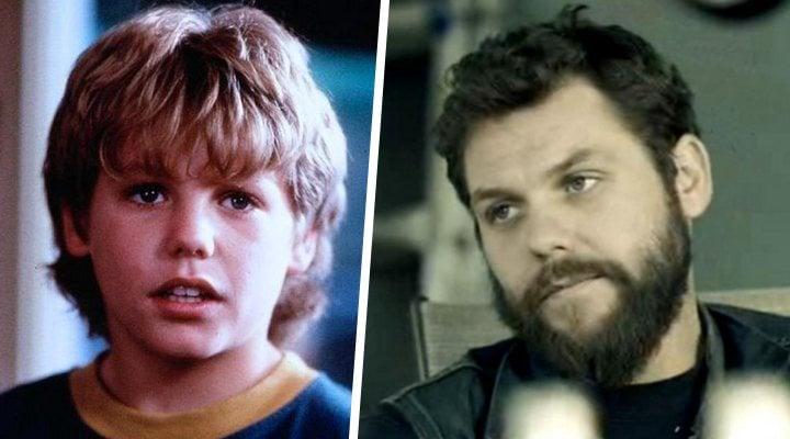 Jason James Richter, antes y </p><p>después