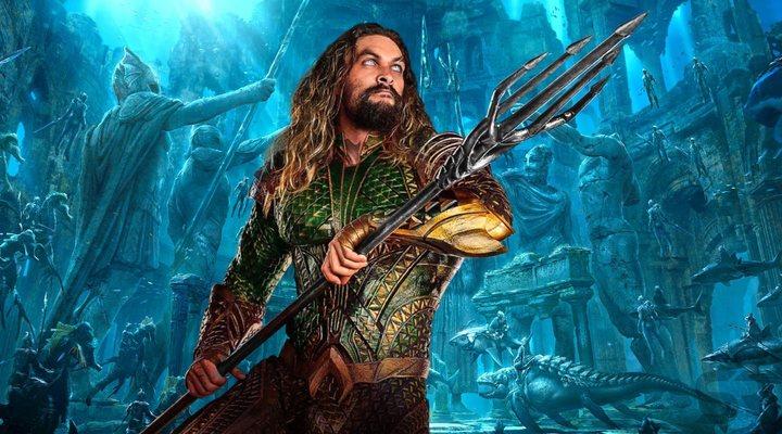 Jason Momoa Aquaman tridentes