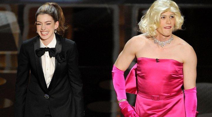 James Franco y Anne Hathaway