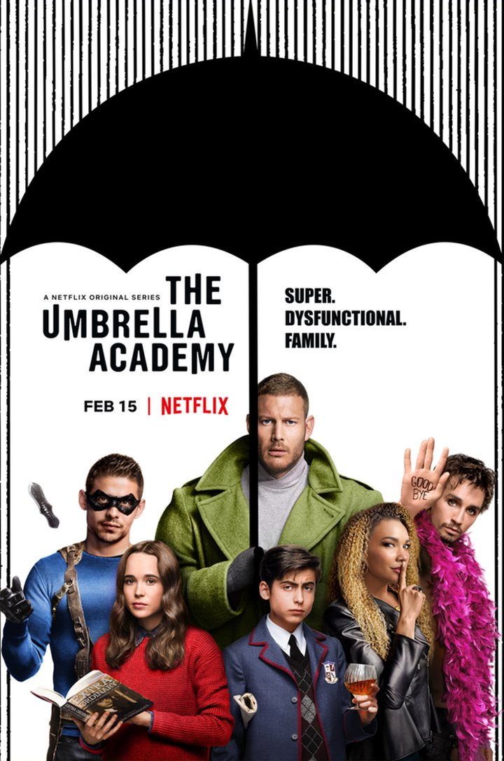Poster de 'The Umbrella Academy'
