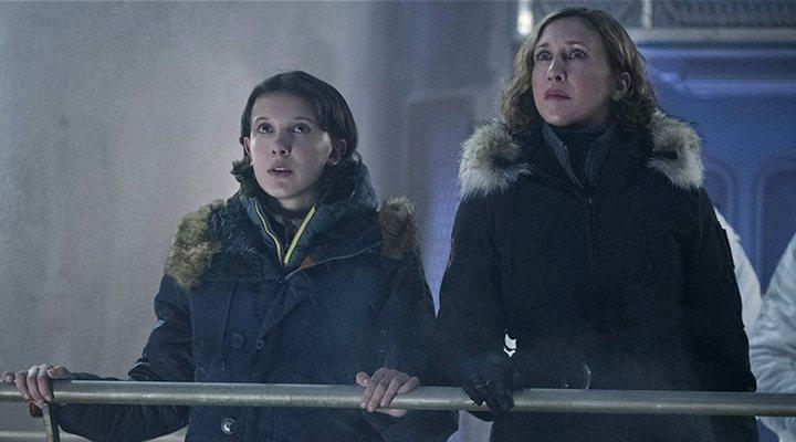 Millie Bobby Brown y Vera Farmiga en 'Godzilla II: Rey de los monstruos'