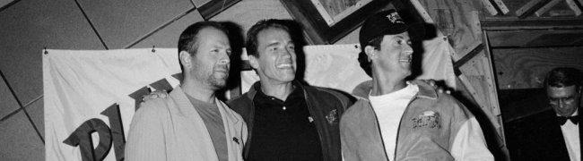 Schwarzenegger y Willis ya son 'Expendables'