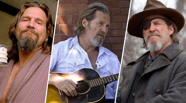 Jeff Bridges en 'El gran Lebowski', 'Corazón rebelde' y 'Valor de ley'