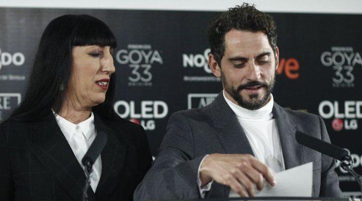 Lectura premios Goya