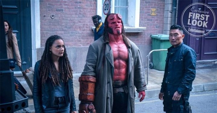 Imagen de Entertainment Weekly de 'Hellboy'