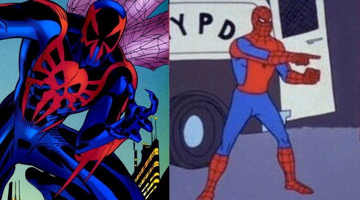 Spider-Man 2099 y Spider-Man 1967