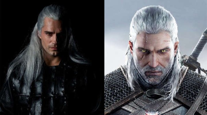 Henry Cavill y 'The Witcher'