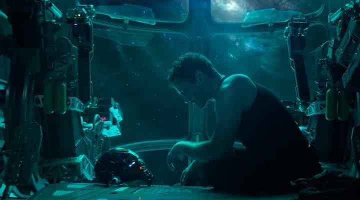 Robert Downey, Jr. en el tráiler de 'Vengadores: Endgame'