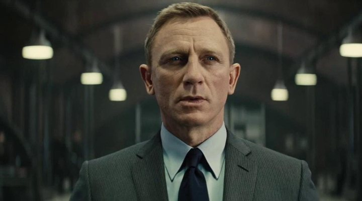 Daniel Craig como 'James Bond'