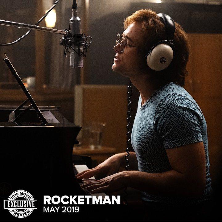 Taron Egerton en 'Rocketman'