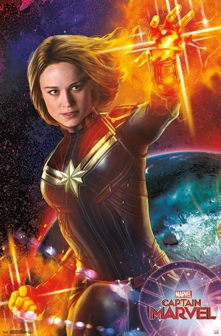 Nuevo póster de 'Capitana Marvel'