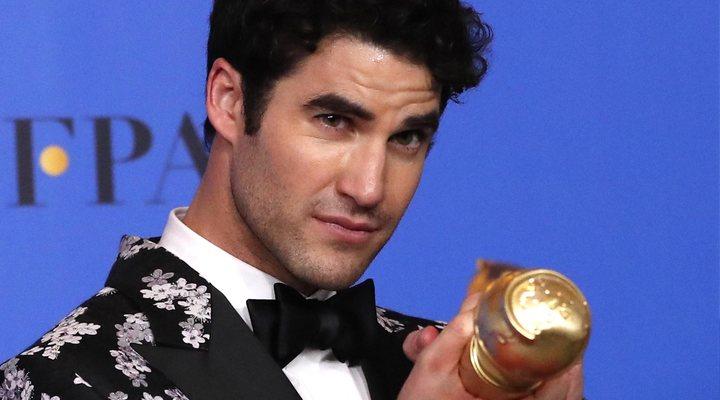 Darren Criss en los Globos de Oro 2019