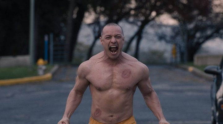 Entrenamiento James McAvoy Glass