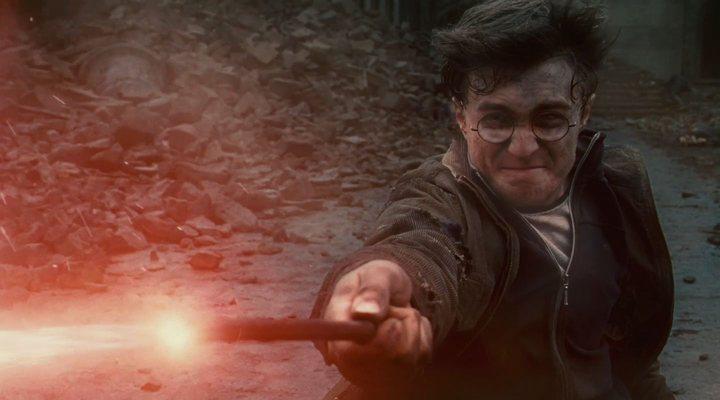 Fans Harry Potter fuegos artificiales