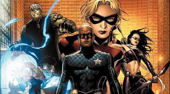 Marvel película Jóvenes Vengadores