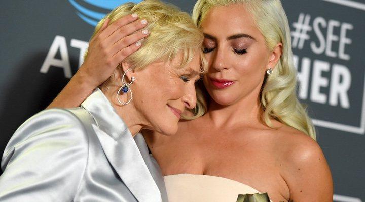 Glenn Close y Lady Gaga
