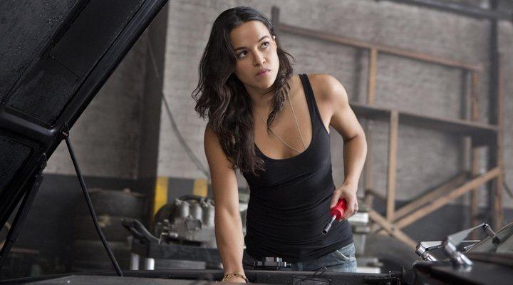 Michelle Rodriguez en 'Fast & Furious'