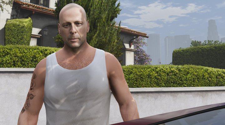 Bruce Willis digital