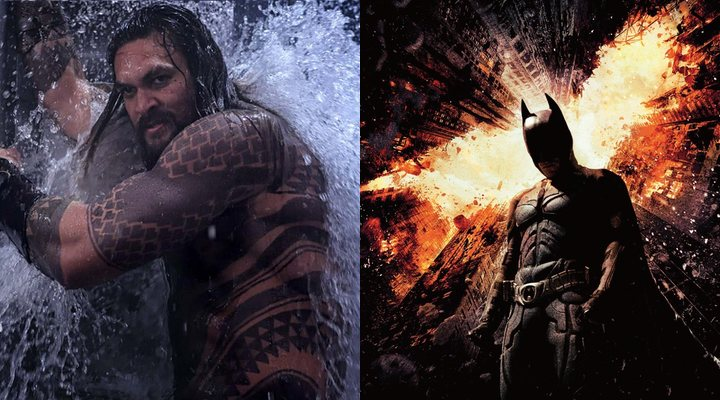 Aquaman y El Caballero Oscuro: La leyenda renace