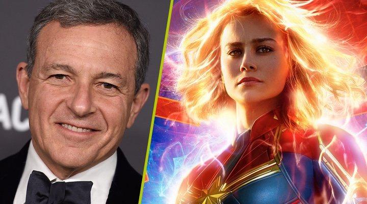 Bob Iger y 'Capitana Marvel'