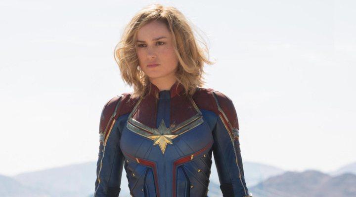 Entrenamiento Brie Larson Capitana Marvel