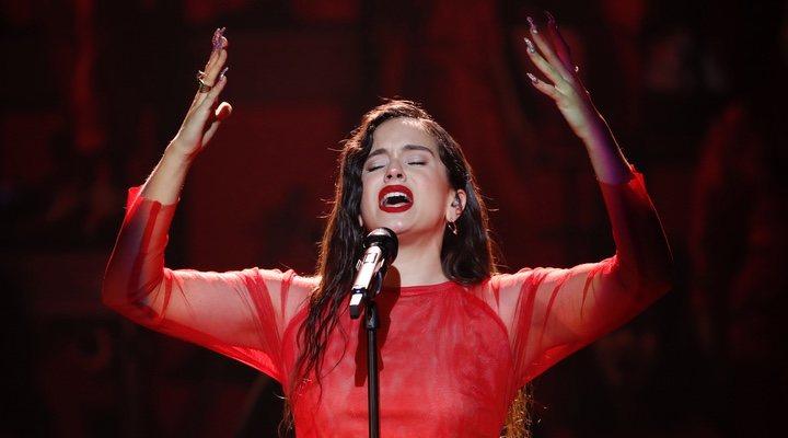 Rosalía en los Premios Goya