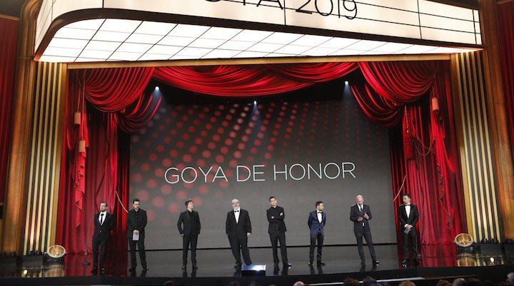 Goya de honor</p><p>
