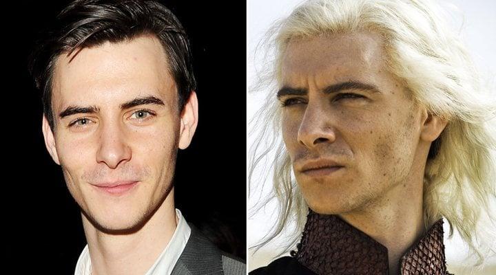 Harry Lloyd y Viserys Targaryen