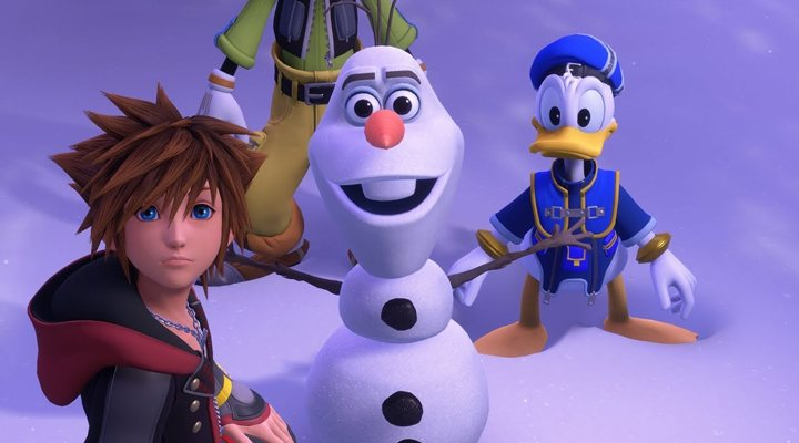 El mundo de 'Frozen' en 'Kingdom Hearts III'