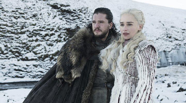 Daenerys y Jon Snow en la temporada 8 de 'Juego de Tronos'