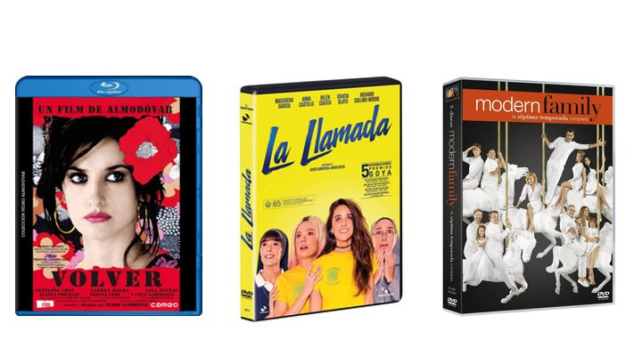 Ofertas DVD Blu-Ray series películas cine español
