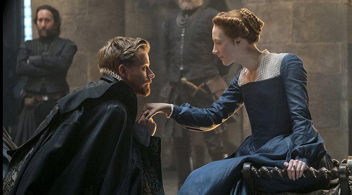 'Saoirse Ronan y Jack Lowden en 'María Reina de Escocia''