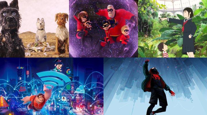 Nominadas al Oscar a la mejor película de animación 2019