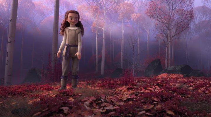 Frozen 2 niña