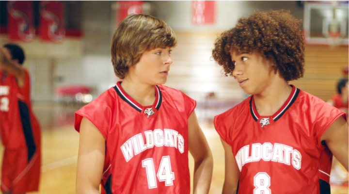 Cordin Bleu en 'High School Musical'
