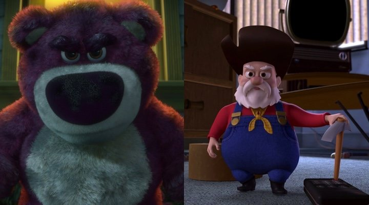 'Toy story 2' y 'Toy Story 3'