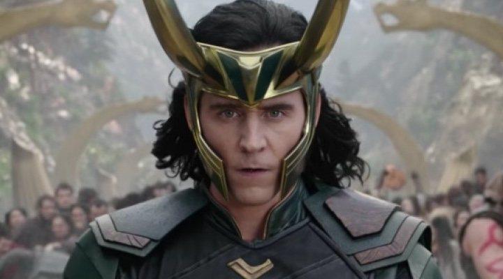 Tim Hiddleston como 'Loki'