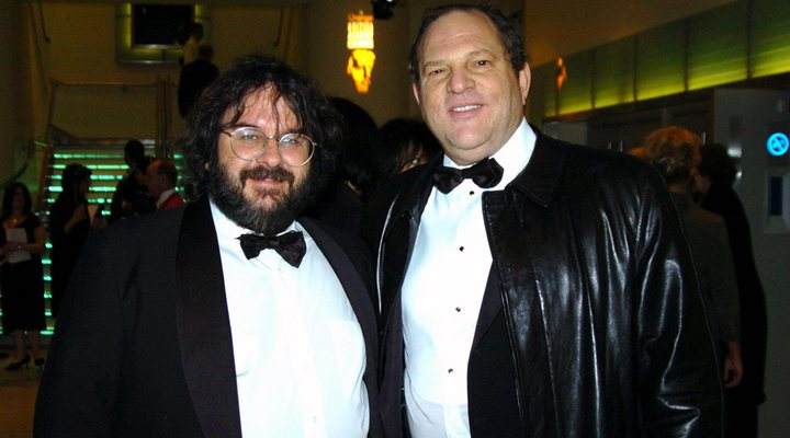 Peter Jackson y Harvey Weinstein