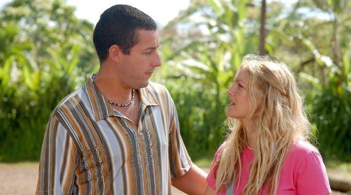 Adam Sandler y Drew Barrymore