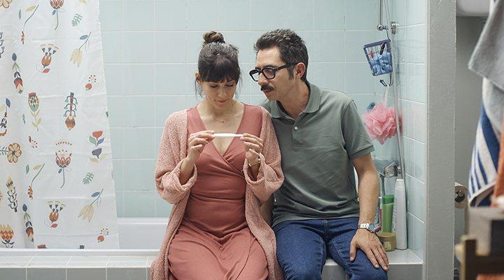 Berto Romero y Eva Ugarte en la temporada 2 de 'Mira o que has hecho'