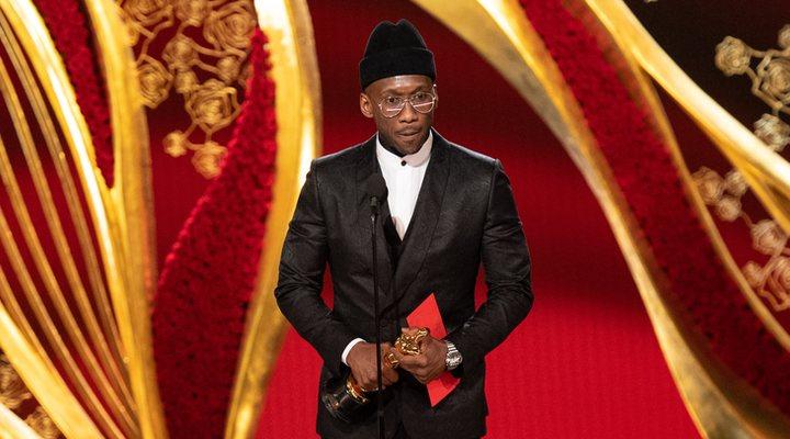 Mahershala Ali en los Oscar 2019