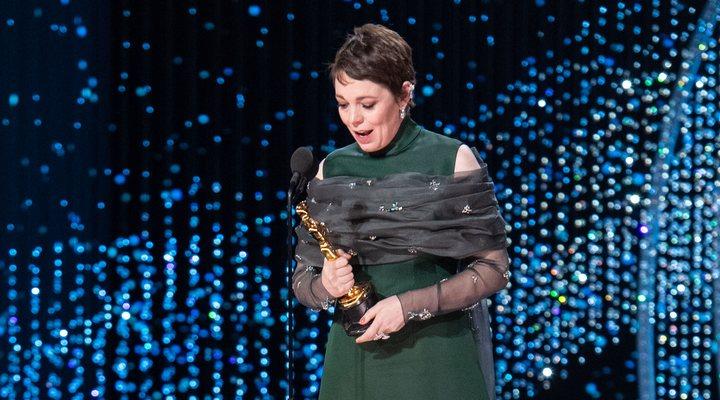Olivia Colman en los Oscar 2019