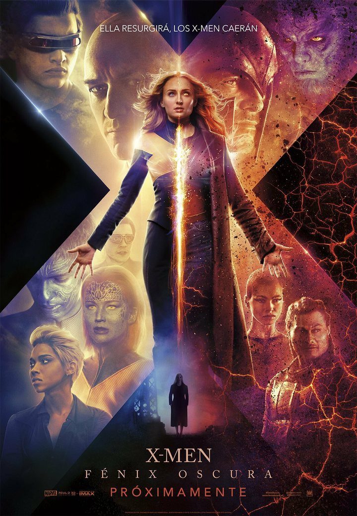 Nuevo tráiler y póster X-Men Fénix Oscura