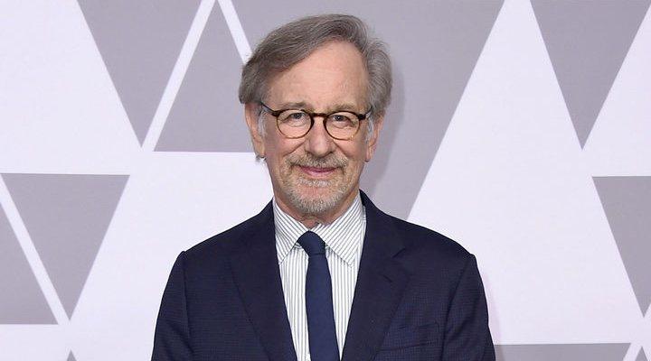 Steven Spielberg durante los Oscar 2018