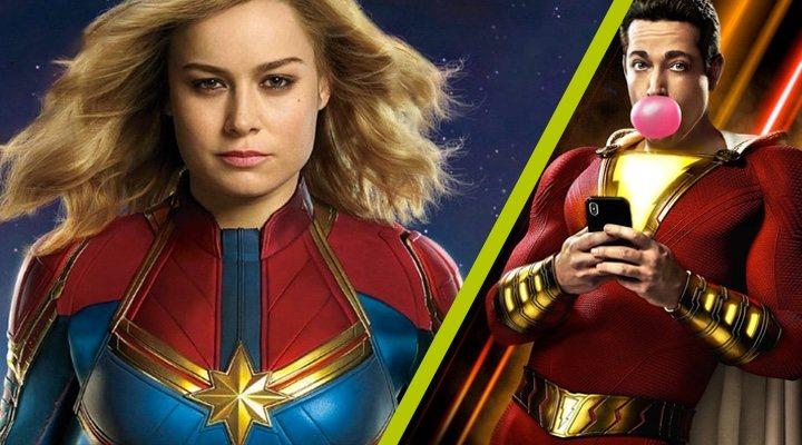 'Capitana Marvel' y '¡Shazam!'