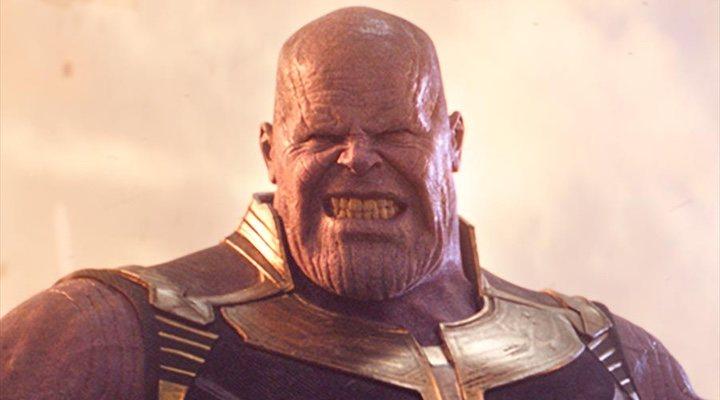 Thanos, el villano de la saga de Vengadores