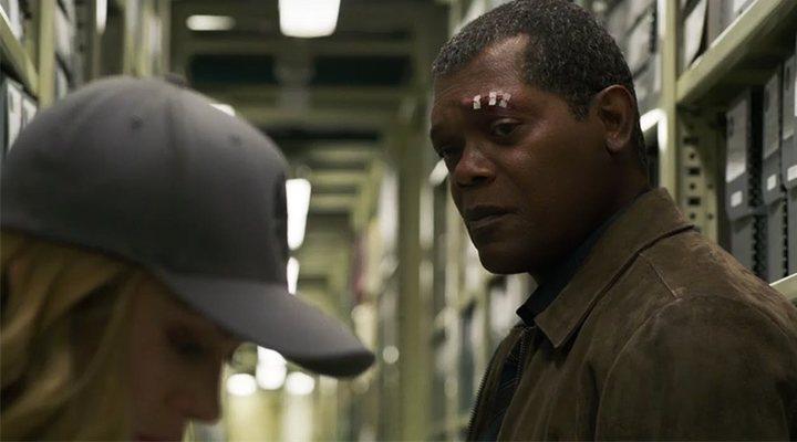 Samuel L. Jackson en 'Capitana Marvel'